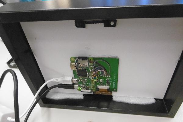 e-ink back panel